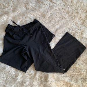 Black Lululemon Straight Leg Women's Pants Size 4